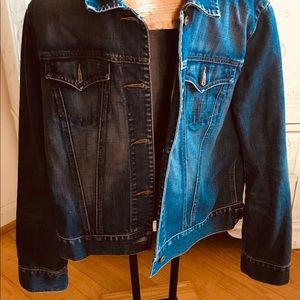 Cute denim Gap jacket for women, size L